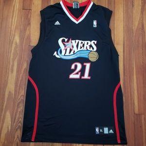 Philadelphia 76ers Sixers Thaddeus Young Adidas #2
